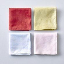 Cotton Silk ハンカチ 1 アルファベット _ 2020