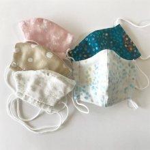 Wガーゼ マスク 2枚セット Sサイズ - 幼児向け