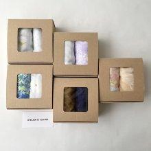 Gift Box _ ハンドガーゼタオル 2枚set