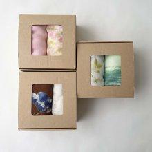 Gift Box _ Wガーゼ大判ハンカチ 2枚set