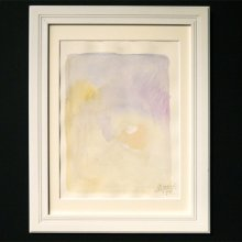 伊藤尚美 水彩画「水辺はこぶ 風はこぶ」