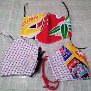 布マスク3枚セット