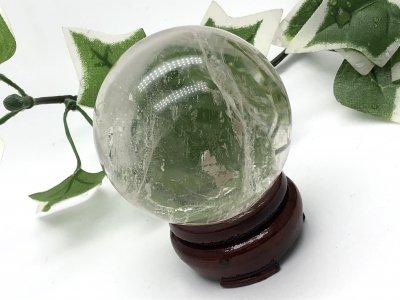天然石 水晶 丸玉 55mm