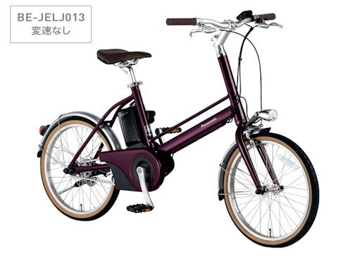 Jconceptjコンセプト軽量電動ミニベロパナソニック電動小径アシスト自転車jelj012120ahシンプル操作