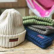 RETRO KNIT CAP【18AW】