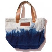 AIZOME LEATHER TOTE BAG (S)