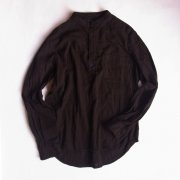MUD BLACK PULLOVER SHIRT