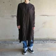MUDBLACK GAUZE SHIRT one piece