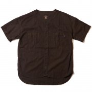 MUD BLACK BASEBALL SHIRT