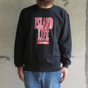 ISLAND LIFE SWEAT<img class='new_mark_img2' src='https://img.shop-pro.jp/img/new/icons2.gif' style='border:none;display:inline;margin:0px;padding:0px;width:auto;' />