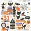 <img class='new_mark_img1' src='https://img.shop-pro.jp/img/new/icons13.gif' style='border:none;display:inline;margin:0px;padding:0px;width:auto;' />My Minds Eye Trick Or Treat チップボードエレメンツ 12インチ