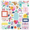 <img class='new_mark_img1' src='https://img.shop-pro.jp/img/new/icons13.gif' style='border:none;display:inline;margin:0px;padding:0px;width:auto;' />American Crafts Paige Evans Go The Scenic Route Chipboard Stickers 12インチ (Icons & Phrase)