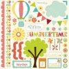 <img class='new_mark_img1' src='https://img.shop-pro.jp/img/new/icons13.gif' style='border:none;display:inline;margin:0px;padding:0px;width:auto;' />[Echo Park Paper] Sweet Summertime 12インチステッカー (Element)