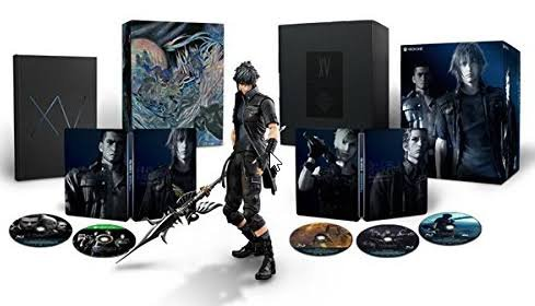 PS4「FINAL FANTASY XV ULTIMATE COLLECTOR'S EDITION」■PS4「ファイナルファンタジー15 アルティメットコレクターズエディション」(USED)