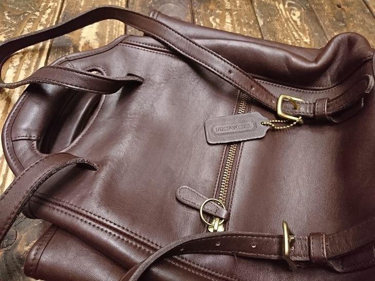 11630454766c OLD COACH Tote bag/オールドコーチ シ 2WAYバッグ(リュック/ハンド)ブラウン USA製. 11,800円(税込12,744円)