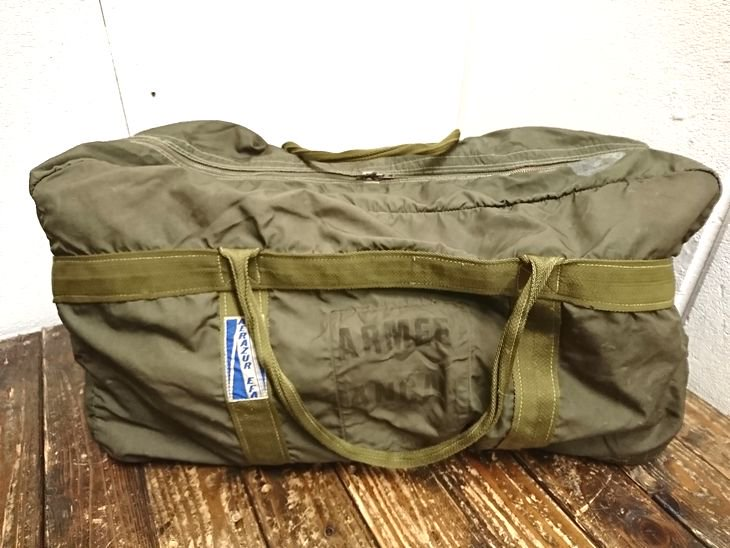 France,Airforce Paratrooper bag /フランス パラシュートバッグ (4)
