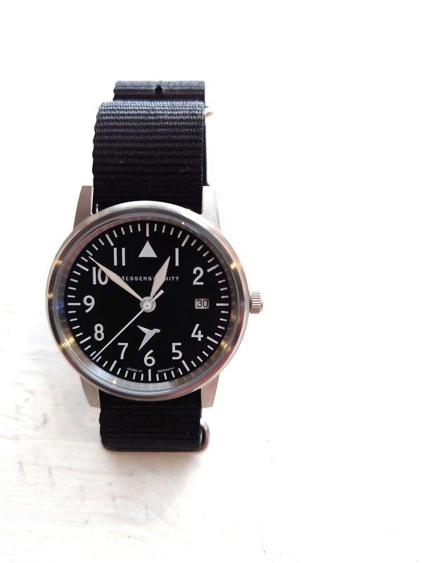 Messerschmitt/メッサーシュミット 腕時計 「109 S Black」 MADE IN GERMANY