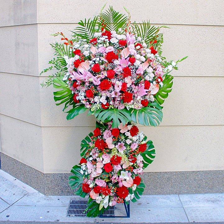 豪華3段スタンド花