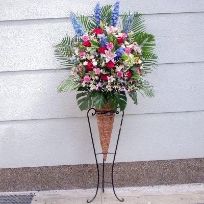 おまかせコーンスタンド花