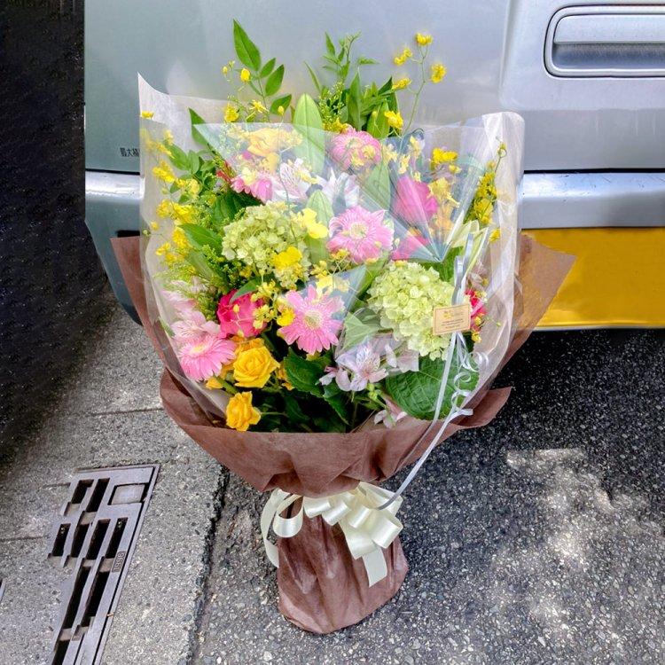 季節の花束(中)ワンサイド