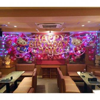 壁面バルーン装飾