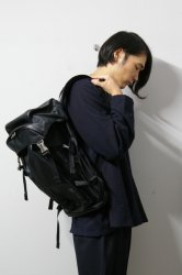 M.U.G(マグ) × PORTER/Grain PC Back Pack Large/Black/Silver