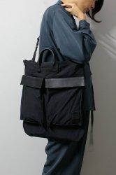 M.U.G(マグ) × PORTER/Wrinkles Helmet Bag/Black