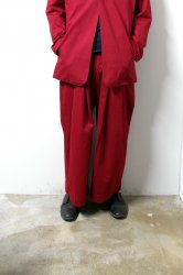 SHINYA KOZUKA(シンヤコズカ)/BAGGY/Maroon