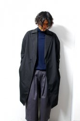 SHINYA KOZUKA(シンヤコズカ)/TRENCHISH(WEATHER CLOTH)/Black