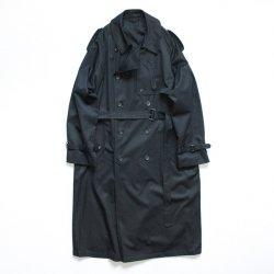 stein(シュタイン)/LAY OVERSIZED TRENCH COAT/Black