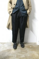 stein(シュタイン)/EX WIDE TROUSERS/Black