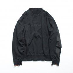 stein(シュタイン)/OVERSIZED REBUILD SWEAT LS/Black