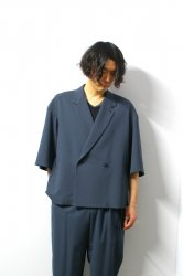 ETHOSENS(エトセンス)/Big SS jacket/Blue Gray