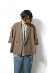 ETHOSENS(エトセンス)/Big SS jacket/Mocha