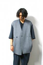 ETHOSENS(エトセンス)/Cellulitis vests/Blue Gray
