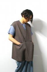 ETHOSENS(エトセンス)/Cellulitis vests/Mocha