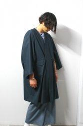 ETHOSENS(エトセンス)/Kimono coat/Green