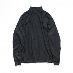 stein(シュタイン)/OVERSIZED HIGH NECK LS/Black