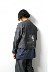 SHINYA KOZUKA(シンヤコズカ)/FADED TRUCKER/Black