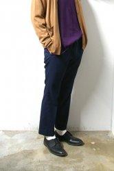 URU(ウル)/COTTON EASY PANTS/Navy