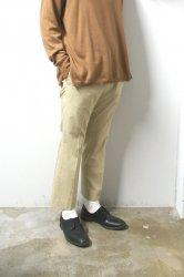 URU(ウル)/COTTON EASY PANTS/L.Beige