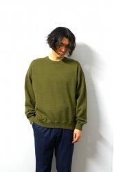 URU(ウル)/CREW NECK SWEAT/Khaki