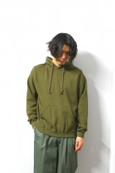URU(ウル)/HOODED SWEAT/Khaki