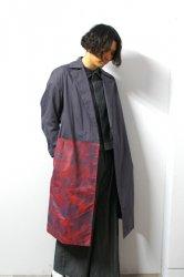 SHINYA KOZUKA(シンヤコズカ)/TRENCHISH/Charcoal × Red