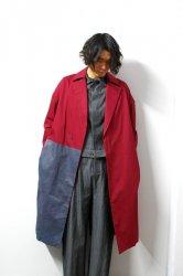 SHINYA KOZUKA(シンヤコズカ)/TRENCHISH/Maroon × Charcoal