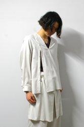 ETHOSENS(エトセンス)/V-neck pullover shirt/Gureju