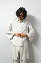 ETHOSENS(エトセンス)/Venetian drapey shirt/Gureju