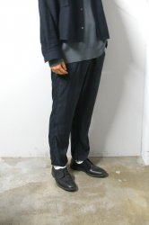 stein(シュタイン)/CUPRO GRADATE TROUSERS/Black