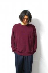 URU(ウル)/CREW NECK OVER KNIT/Pansy