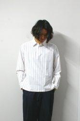 URU(ウル)/COTTON PULLOVER SHIRTS/Stripe